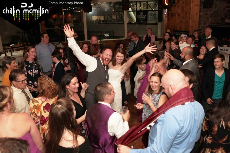 Wedding DJ at the Loon Mountain Ski Resort New Hampshire with DJ Chillin McMillin