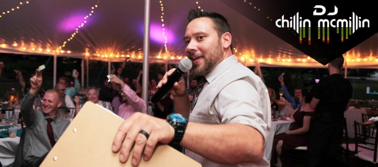 Massachusetts Wedding DJ New England Matt Chillin McMillin