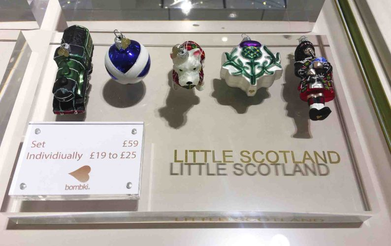 Little Royal Scotland christmas ornaments John Lewis