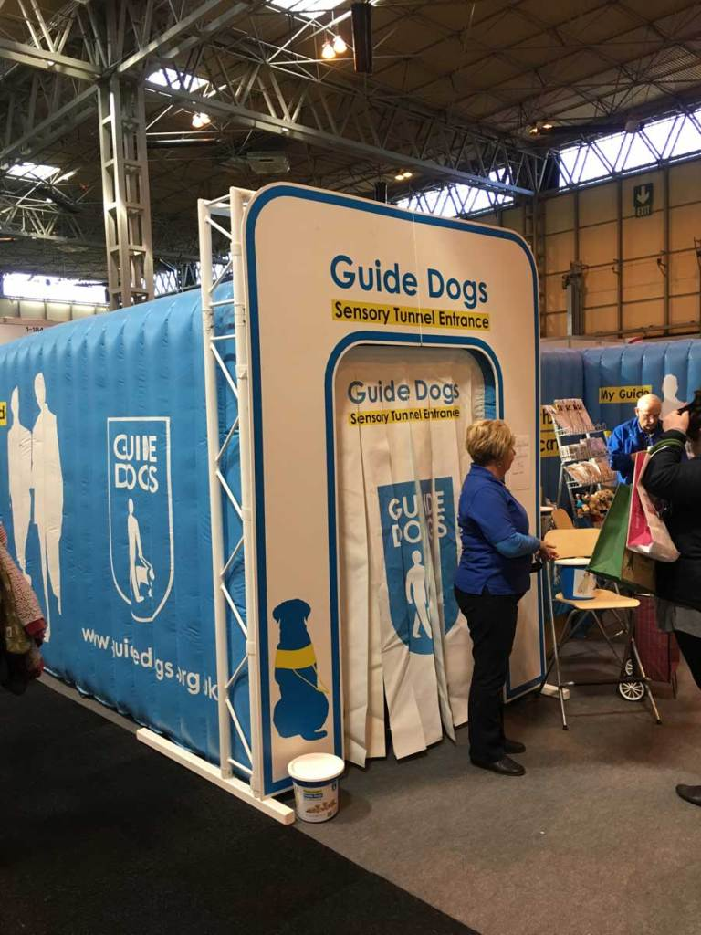 Guide Dogs experience display