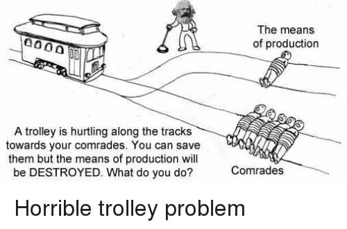The interesting problem of a railway trolley - what is ethical and what is not? 1