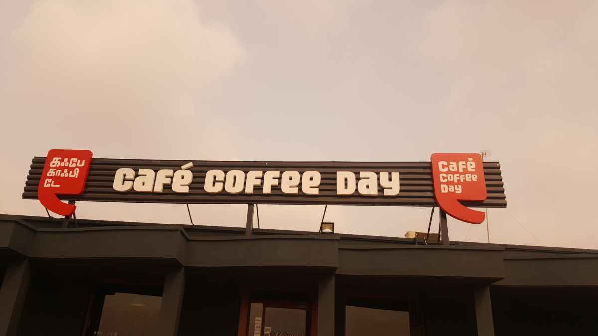 Cafe coffee day - a few thoughts 1