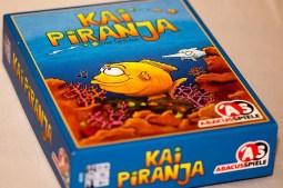 Foto der Verpackungsbox des Spiels Kai Piranja