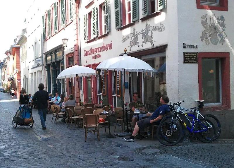 Cafes Heidelberg Untere Stra Ef Bf Bde
