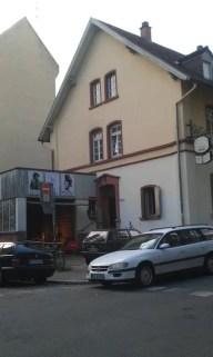 Das Haus in der Seitenansicht, Bergstraße 11