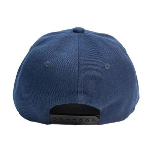 Custom and Embroider your Dark Blue Cap Back View