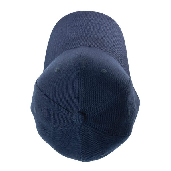 Custom and Embroider your Dark Blue Cap Top View