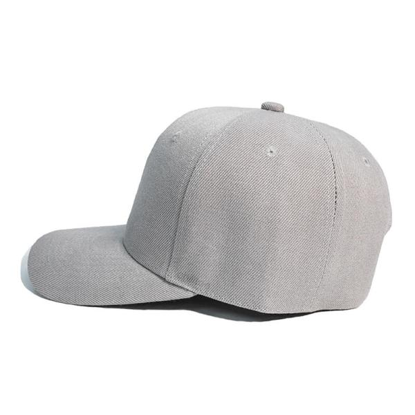 Custom and Embroider your Grey Cap Left View