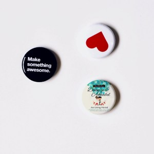 Custom and upload your button magnet
