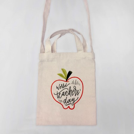 World's Teacher Day Tote-bag