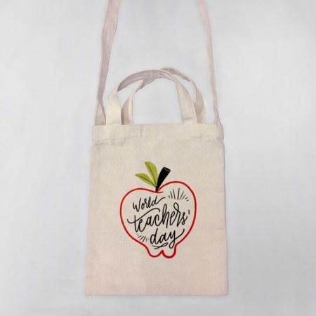 World's Teacher Day Tote-bag