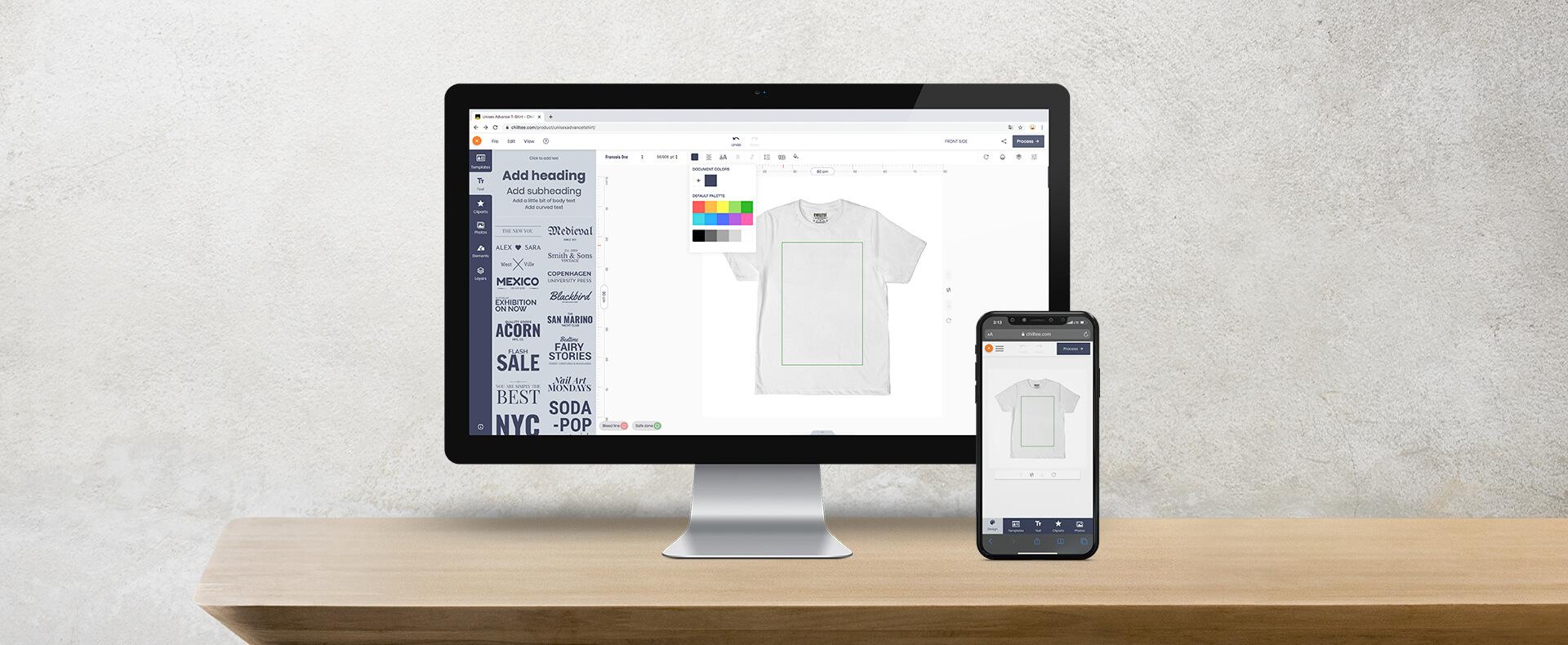Online Custom Design Platform
