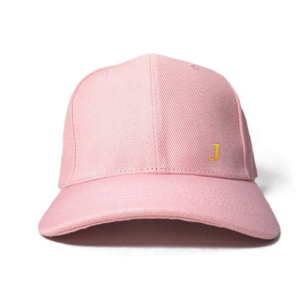Create your initial in Baby Pink Embroidered Cap, Custom our iTee template and make it yours. Product View