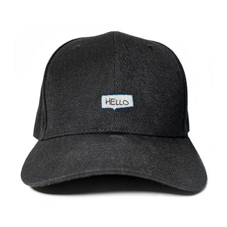 Say Hello! Embroidered Cap