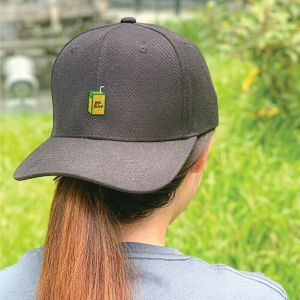 Got Juice? Black Embroidered Cap, Custom our iTee template and make it yours. Model View