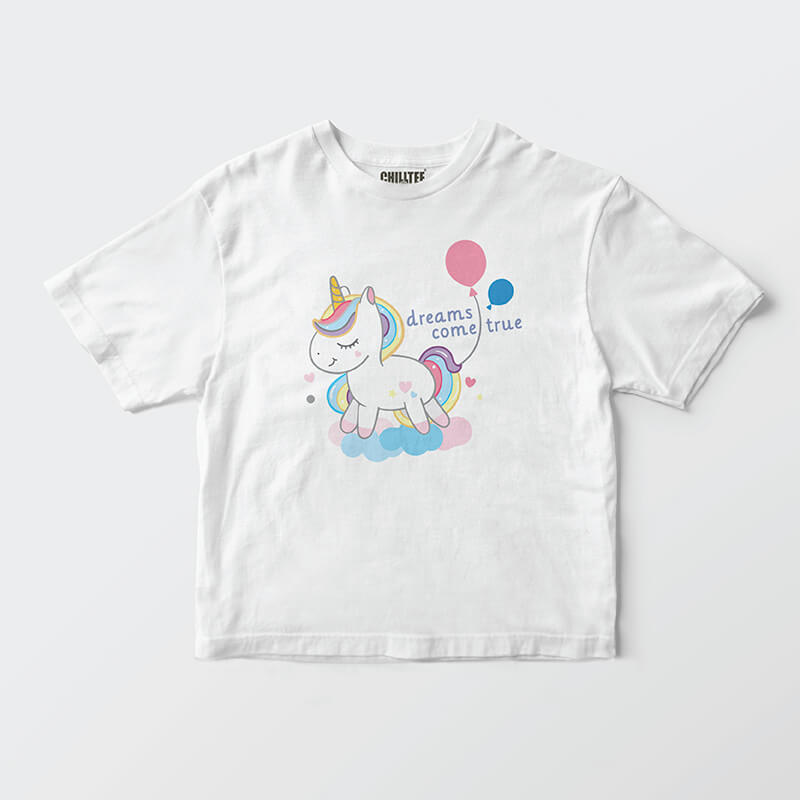 I want a Unicorn Kids T-shirt