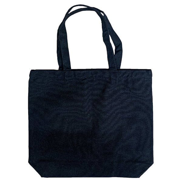 Custom your Black Tote-bag (M), Back View