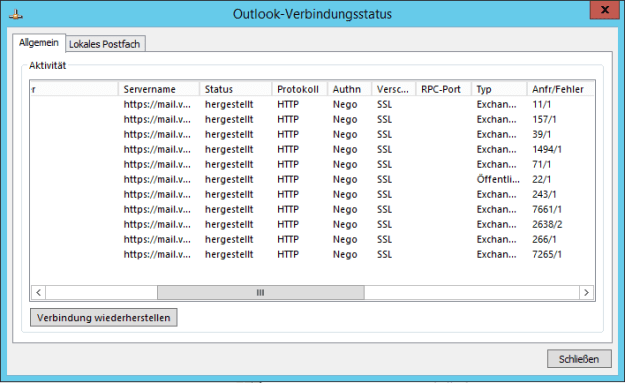Exchange 2013 MAPI over HTTP 1