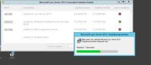 Lync Comulative Update 1