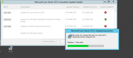 Lync Comulative Update 1