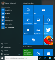 Windows 10 nach Installation 1