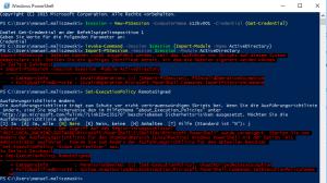 Windows 10 Powershell RSAT 4