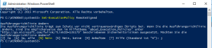 Windows 10 Powershell RSAT 5