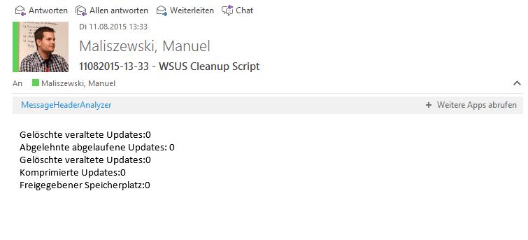Windows Server 2012 - WSUS Server Cleaup 8