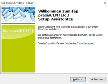 ifap Praxiscenter Installation 2