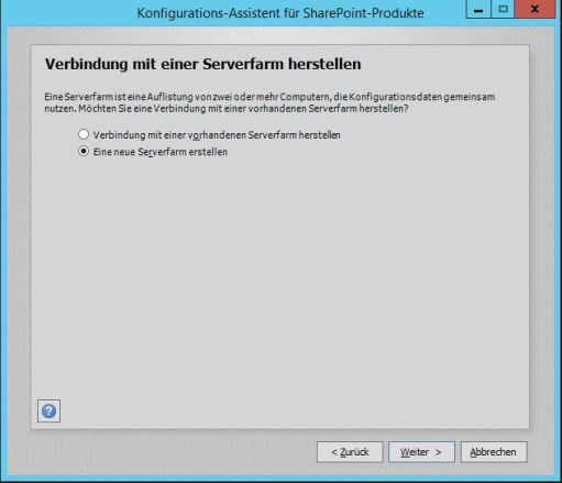 Sharepoint Foundation 2013 Konfiguration 2