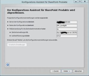 Sharepoint Foundation 2013 Konfiguration 9
