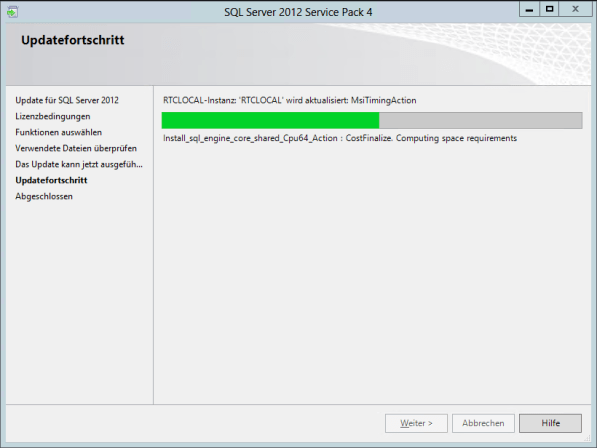 4Lynx 2013 SQL Server Service Pack Update 6