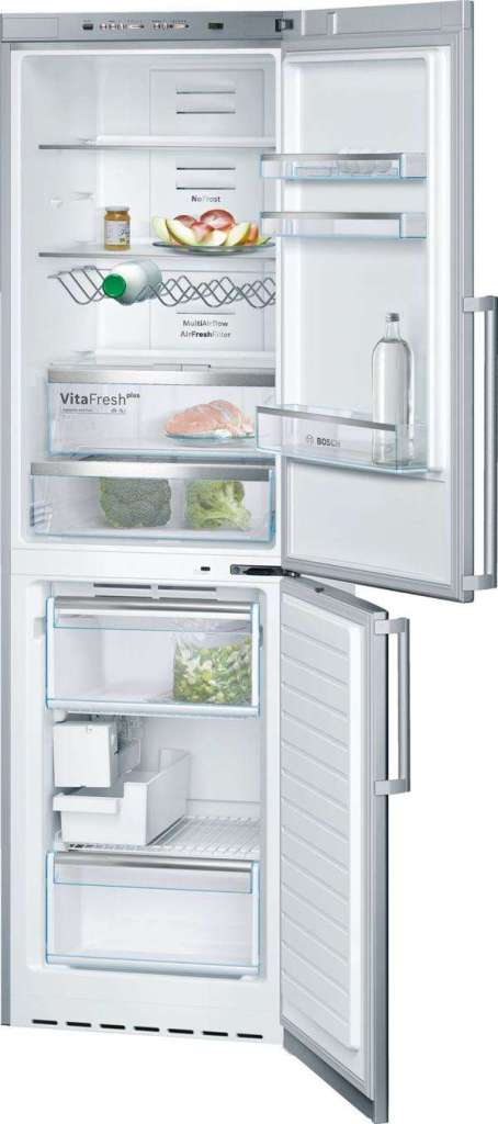 Bosch apartment fridge inside