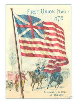 1776 Ο στρατηγός Τζωρτζ Ουάσιγκτον υψώνει την Ομοσπονδιακή σημαία.