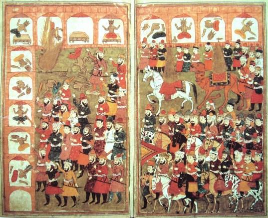 630 Ο Μωάμεθ καταλαμβάνει αναίμακτα την Μέκκα.