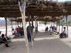 Asamblea en la Colonia Makurawe, San Bernardo, Álamos