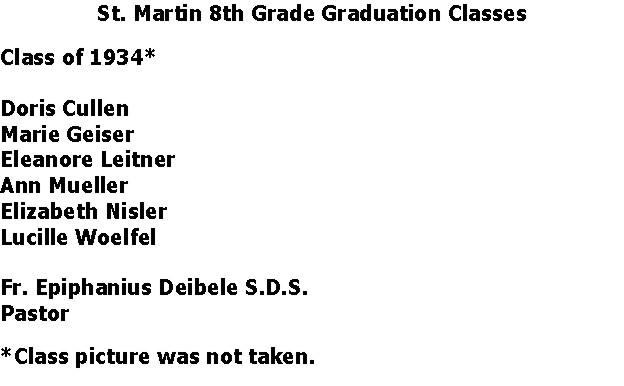 St. Martin 1934