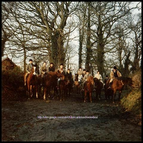 Chilton Cantelo School Riding Club 1962