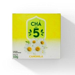Chá das 5 – Camomila – Mate Laranjeiras 10g