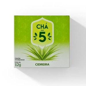 Chá das 5 – Cidreira – Mate Laranjeiras 12g