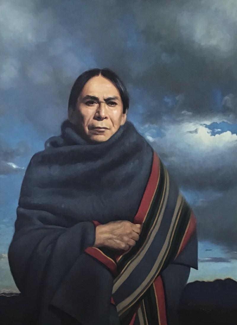 """A Taos Landscape"" (Johnathan Warmday Coming)"