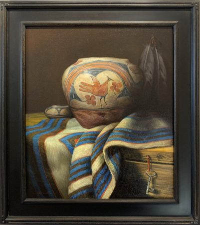 William-Martin-Chimayo Trading del Norte-Paintings- Contemporary