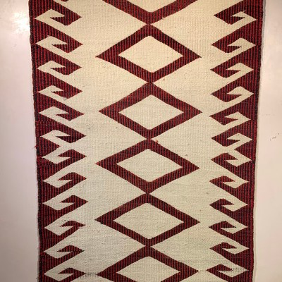 """1930s Double Saddle Blanket"""