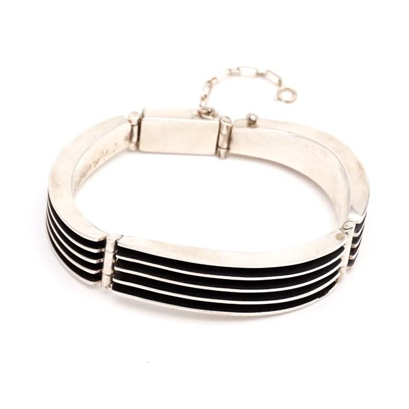 """James Bahe Bracelet Sterling silver Length: 6.5"""""""
