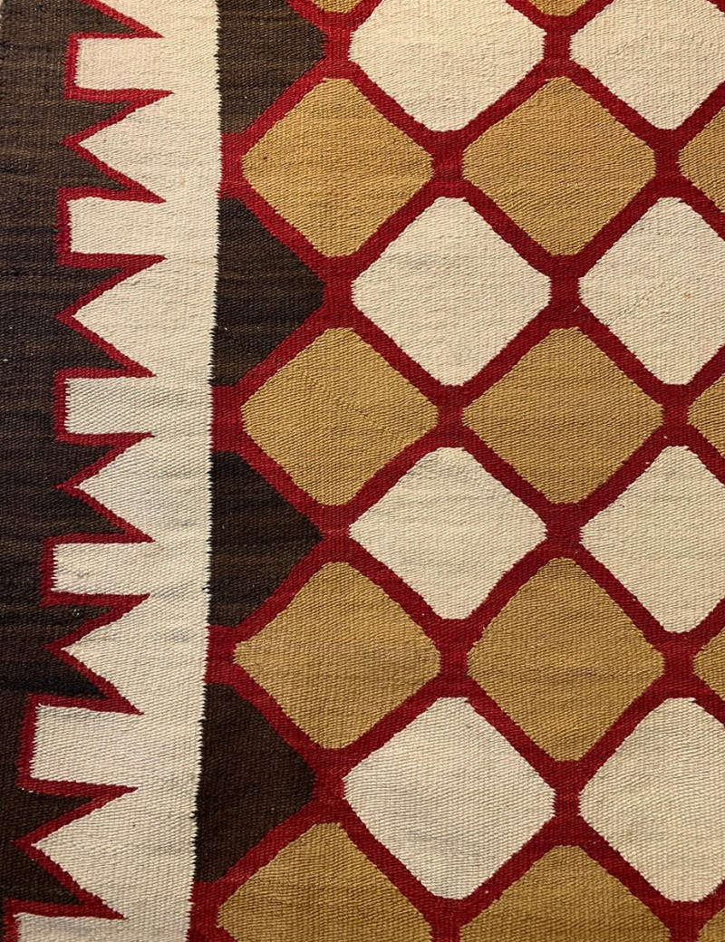 """""""1930s"""" Hand spun wool, natural colors, aniline and vegetal dyes."""
