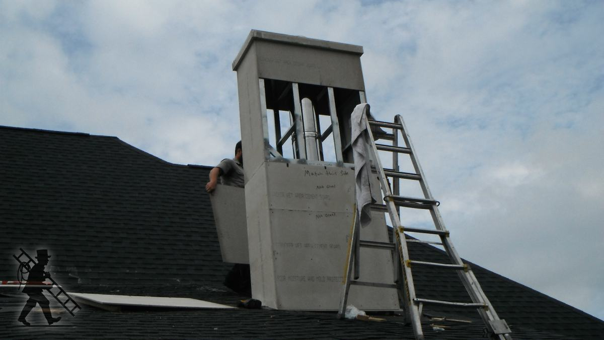 Fireplace Vent Manufactured Chimney Chase Installation - Greenville Sc