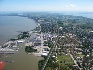 AerialView-Port-Clinton-OH-Chim-Cheroo-Chimney-Service