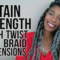 HOW TO GROW YOUR NATURAL HAIR WITH BRAID & TWIST EXTENSIONS