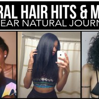 NATURAL HAIR HITS & MISSES: HEAT DAMAGE, HAIR CUTS, GOALS REACHED & LESSONS LEARNED