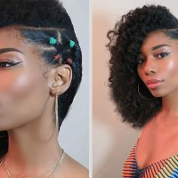 FUN ON SIDE: BACK TO SCHOOL NATURAL HAIRSTYLES (DAY 3)